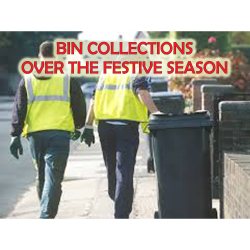 CHRISTMAS BIN COLLECTION DATES - ST NEOTS HUNTINGDONSHIRE 2018