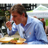 Shrewsbury MP supports soldier curry cook off