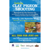 Ever Wanted To Go Hunting Without The Danger? Clay Pigeon Shooting By The Victoria Inn & Bolton Lads & Girls Club Is Perfect For You