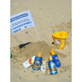 Stay Safe in the Sun on Lowestoft Beach.