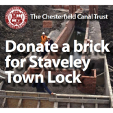 Chesterfield Canal Trust need your help to bring Staveley Town Basin alive