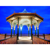 Bandstand at Twilight - Images of Brighton & Hove