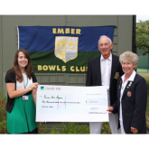 Bowlers hit the mark with donation to Princess Alice Hospice!