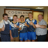 Coghlans Cookery School continues partnership with Chargers RL