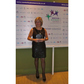 Anderson Food Hygiene, a local training company, scoops up another Award at the 2012 Merton Business Awards.