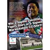 Would you like a signed Leicester Tigers Shirt?