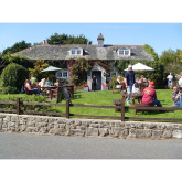 Best Meal Wynne Evans ever had in Wales was at the Stackpole Inn according to Wales On Line