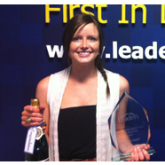 Louise is Leaders' Head Office Employee of the Year 2012