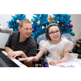 Fleckney Girl Charlotte Stars in Rainbows 'Twinkle Little Star' Christmas Appeal