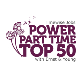 Jane Russell honoured in the UK's first ever Power Part Time list