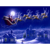 Santa's coming to Nantwich