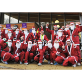 Cycling Santas at Pound Gates raise more than £6000 for EACH