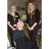 Local Beauty students glam up patients at Warwick Hospital