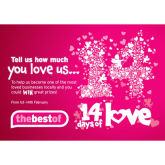 Get in the mood for 'l'amour' with thebestof's 14 Days of Love campaign!