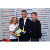 CRAIG'S HEARTSTRONG FOUNDATION LAUNCH 'DEFIB'S FOR PRIMARY SCHOOLS CAMPAIGN'