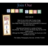Join The Gallery Baby and Toddler Club for a great deal