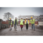 Wrexham Housing Project Receives Visit from Finance Minister