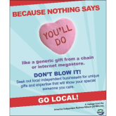 Buy Local From An Independent Business In Bolton This Valentine's Day 2013