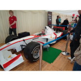 An evening with Jim Reid and an F1 simulator