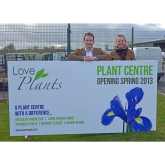 New specialist plant centre in Shrewsbury creates nine jobs