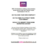 BBC Worldwide is making a documentary series about small and medium sized businesses in the UK.