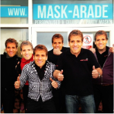Mask-arade pay tribute to Stan Petrov of Aston Villa