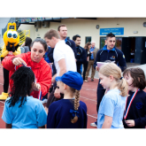School Sports' legacy in Sutton supported by GB Olympic Athletes