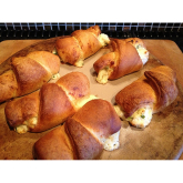 A Lowestoft Recipe - Cheesy Chicken Croissants