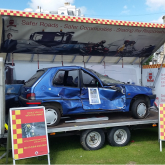 999 Emergency Services Display at Western Lawns