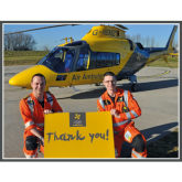 Vote for Derbyshire, Leicestershire & Rutland Air Ambulance in Nationwide's new online Charitable Giving Scheme, 'The Big Local'