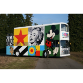 The Watergate Street Gallery Brings Leading British Modern and Contemporary Art to Chester on Sir Peter Blake Designed Art Bus