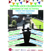 Tapton Lock Celebration Weekend for all of the Family