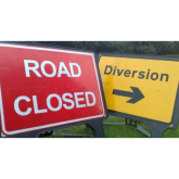 North Devon Road Closures en-route to Barnstaple