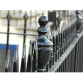 New railings for Imperial Gardens