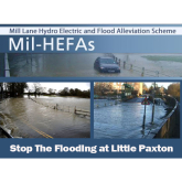 Flooding at Mill Lane Little Paxton -  How it can be prevented