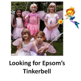 Is your little girl the Epsom Tinkerbell? #epsomplayhouse