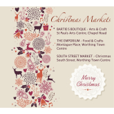 Make sure you get your slot at Worthing's loveliest Christmas Markets...