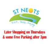 Later shopping on Thursdays and free parking