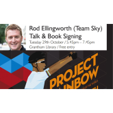 Cycling star Rod Ellingworth (Team Sky) comes to Grantham