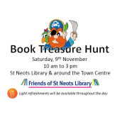 The St Neots Book Treasure Hunt is back in town