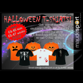 Spooky Halloween T-shirts!