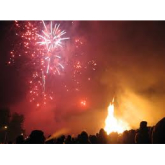 Bonfire night events in Jersey.