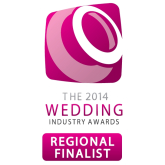 Local Chesterfield Wedding Photographer Wings Photography is a Regional Finalist in the 2014 Wedding Industry Awards