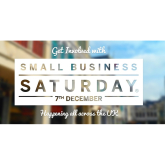 Small Business Saturday is a MUST this weekend.