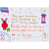 Christmas cards delivered in Henley-on-Thames for 20p