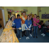Fairy Godmother visits Demelza Children's Hospice