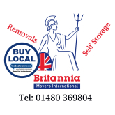 "Now officially  "" The Best of St Neots"" Britannia Harrison and Rowley removals"