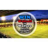 Win a Walsall v Wolves Match Day Mascot Package for Sat 8th March 2014!