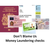 Don't Blame Us! – money laundering procedures @CuffandGoughLLP