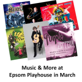 It's great Music and More at Epsom Playhouse in March #epsomplayhouse